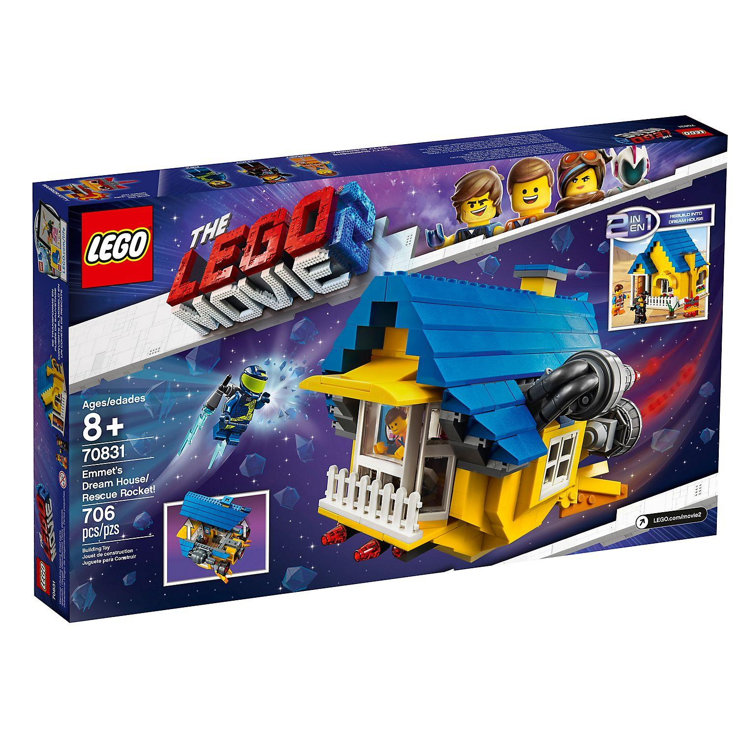 Lego Movie 2 Emmet's Dream House/Rescue Rocket! (70831)