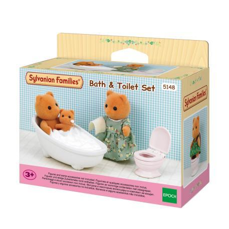 Sylvanian Families Bath and toilet set (5148)
