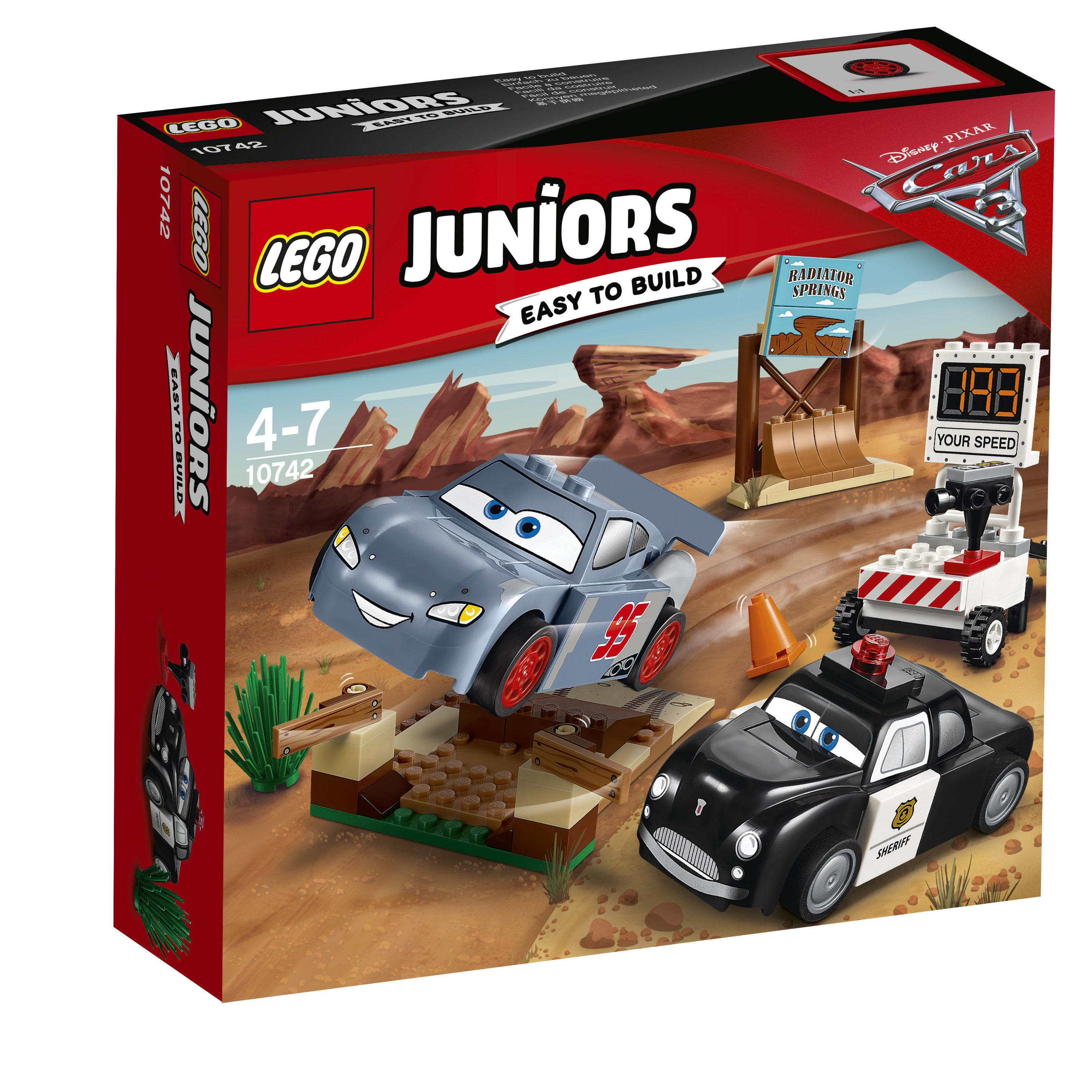 Lego Juniors Cars Willys Buttle Speed Training