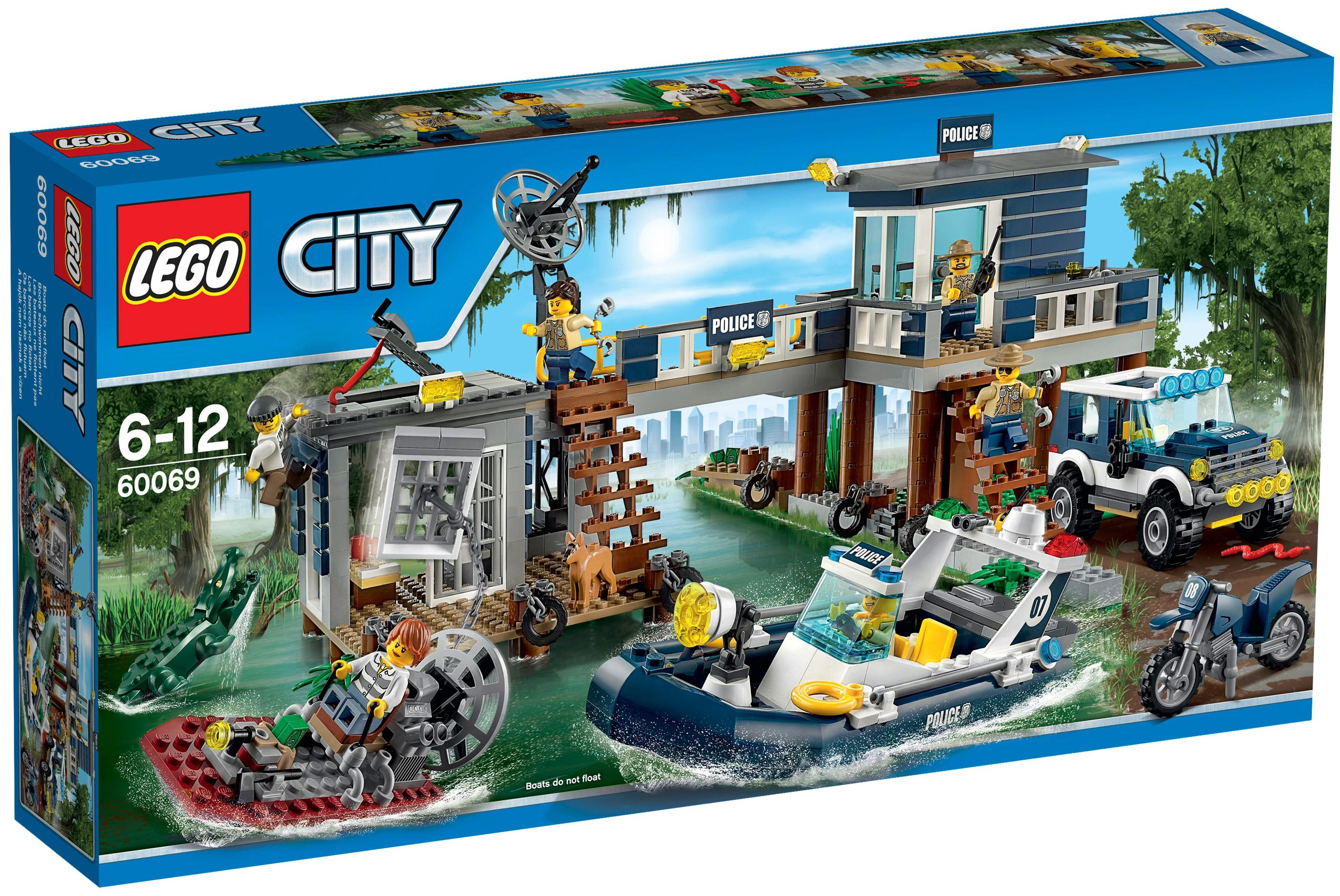 Lego City Swamp Police Station