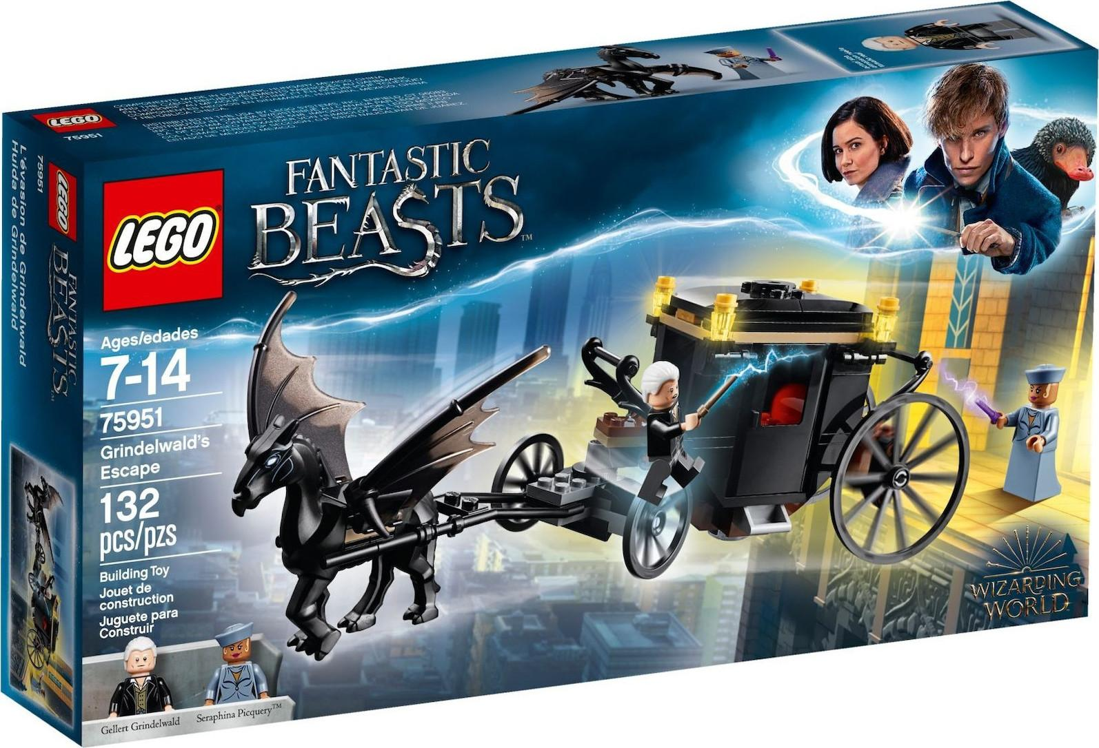 Lego Fantastic Beasts Gridelwald's Escape (75951)