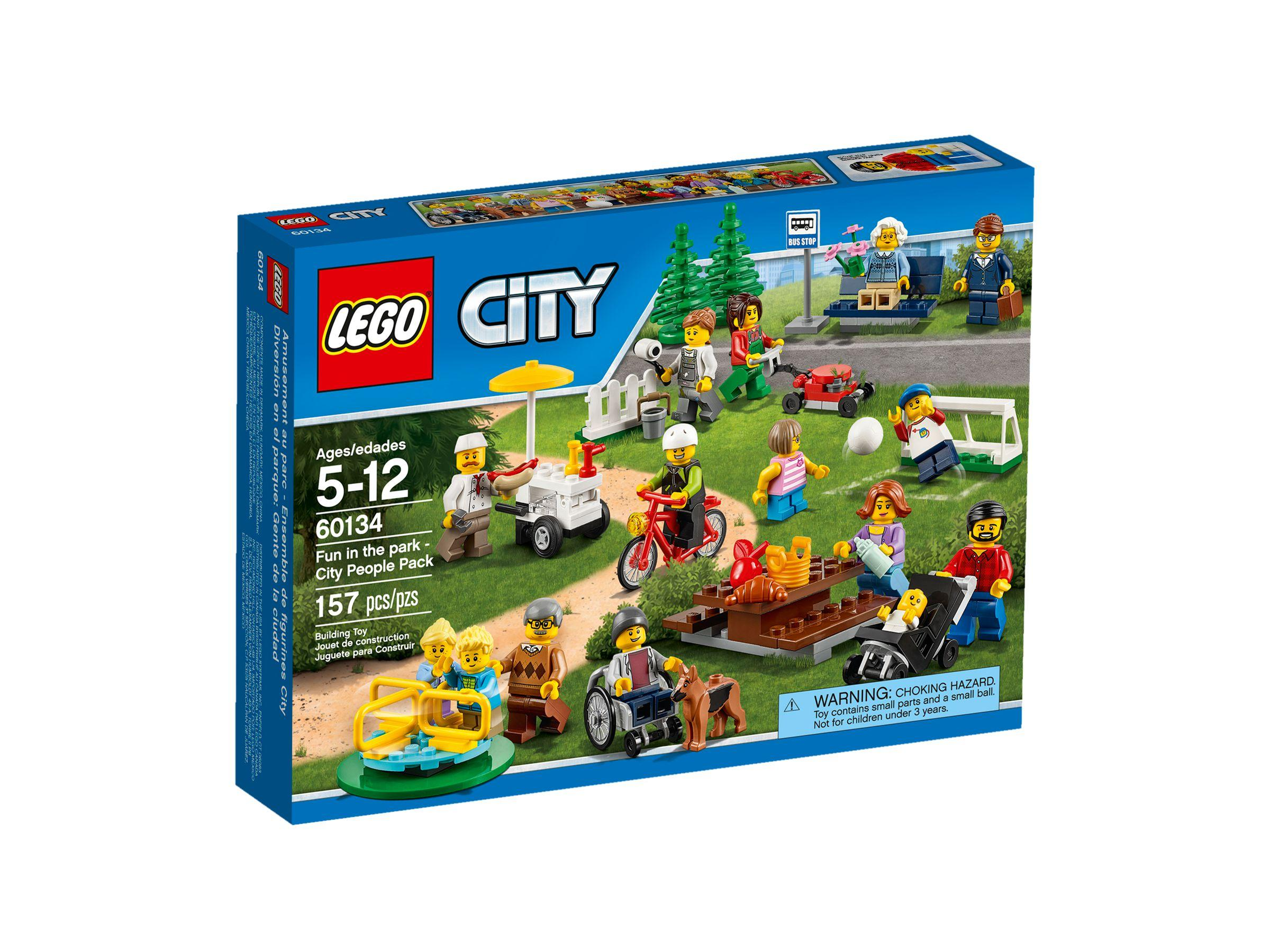 Lego City Fun in the park - City People Pack