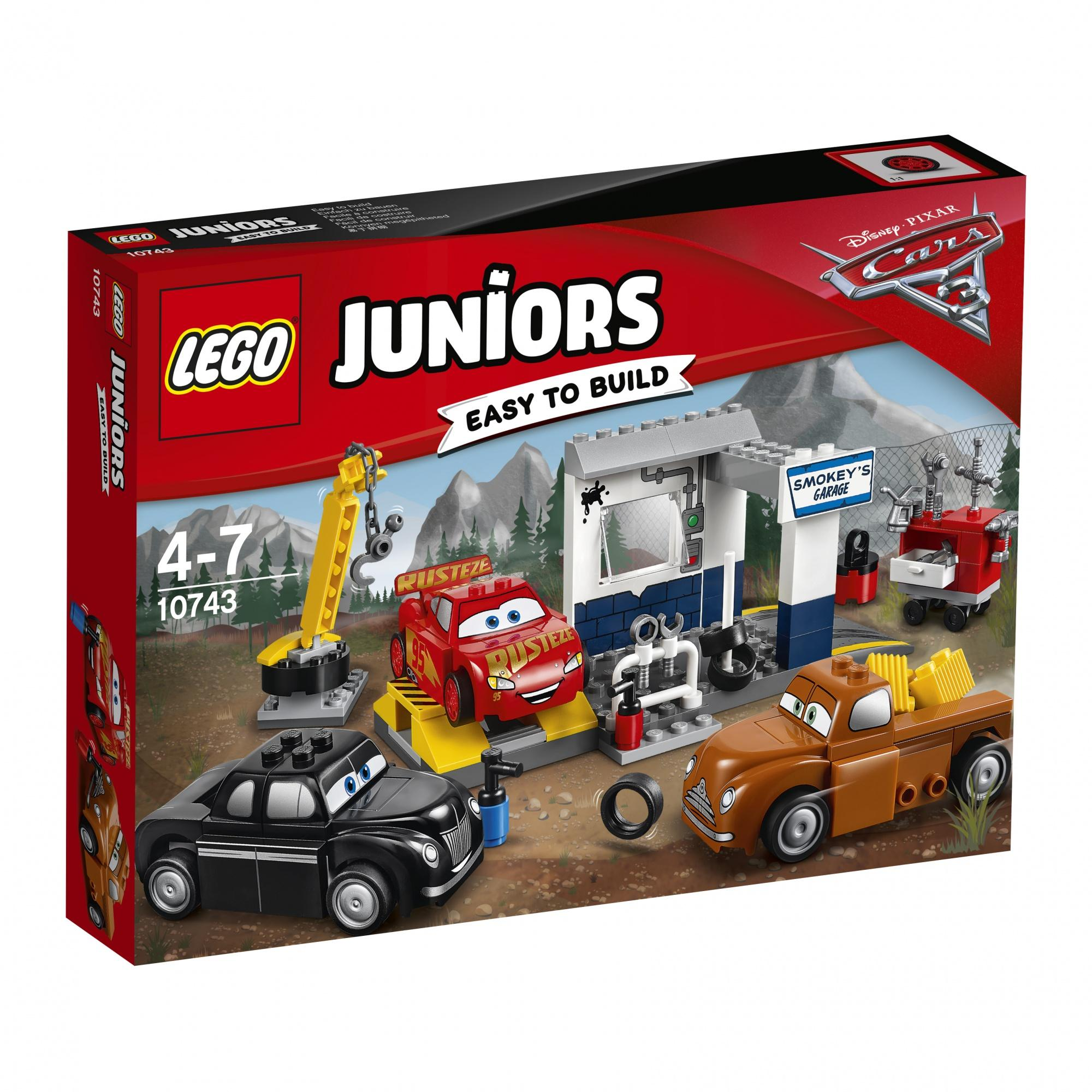 Lego Juniors Smokey's Garage