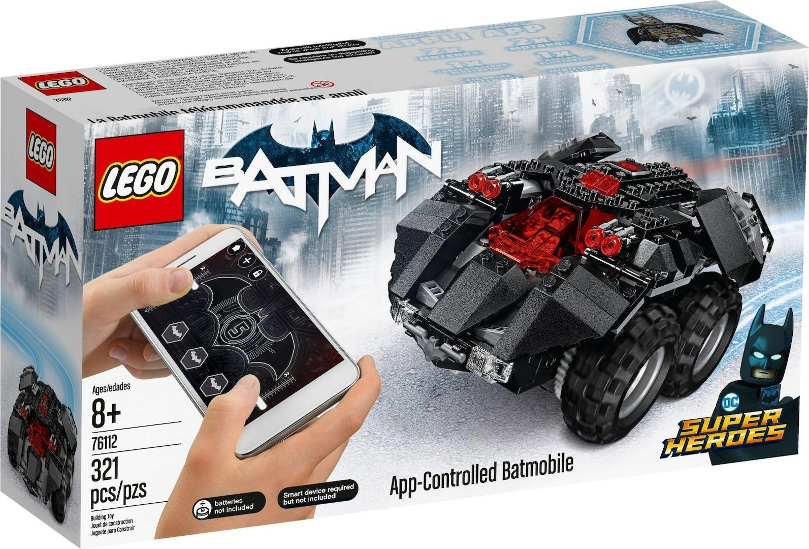 Lego Super Heroes App-Controlled Batmobile (76112)