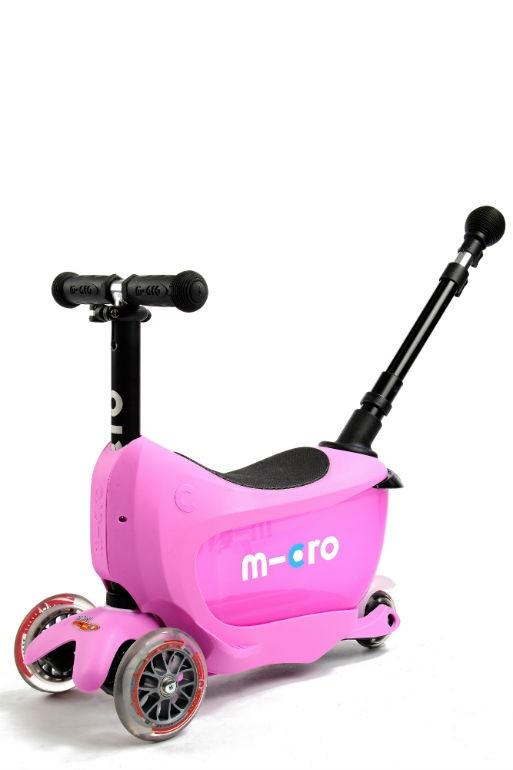 Πατίνι Mini2go Deluxe Plus Pink