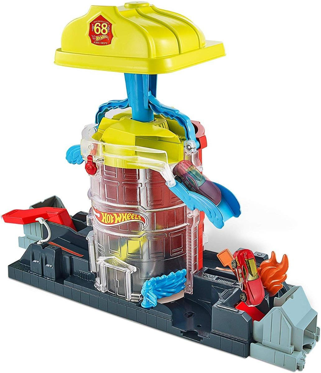 Hot Wheels City - Super Fire House Resque (GJL06/FNB15)