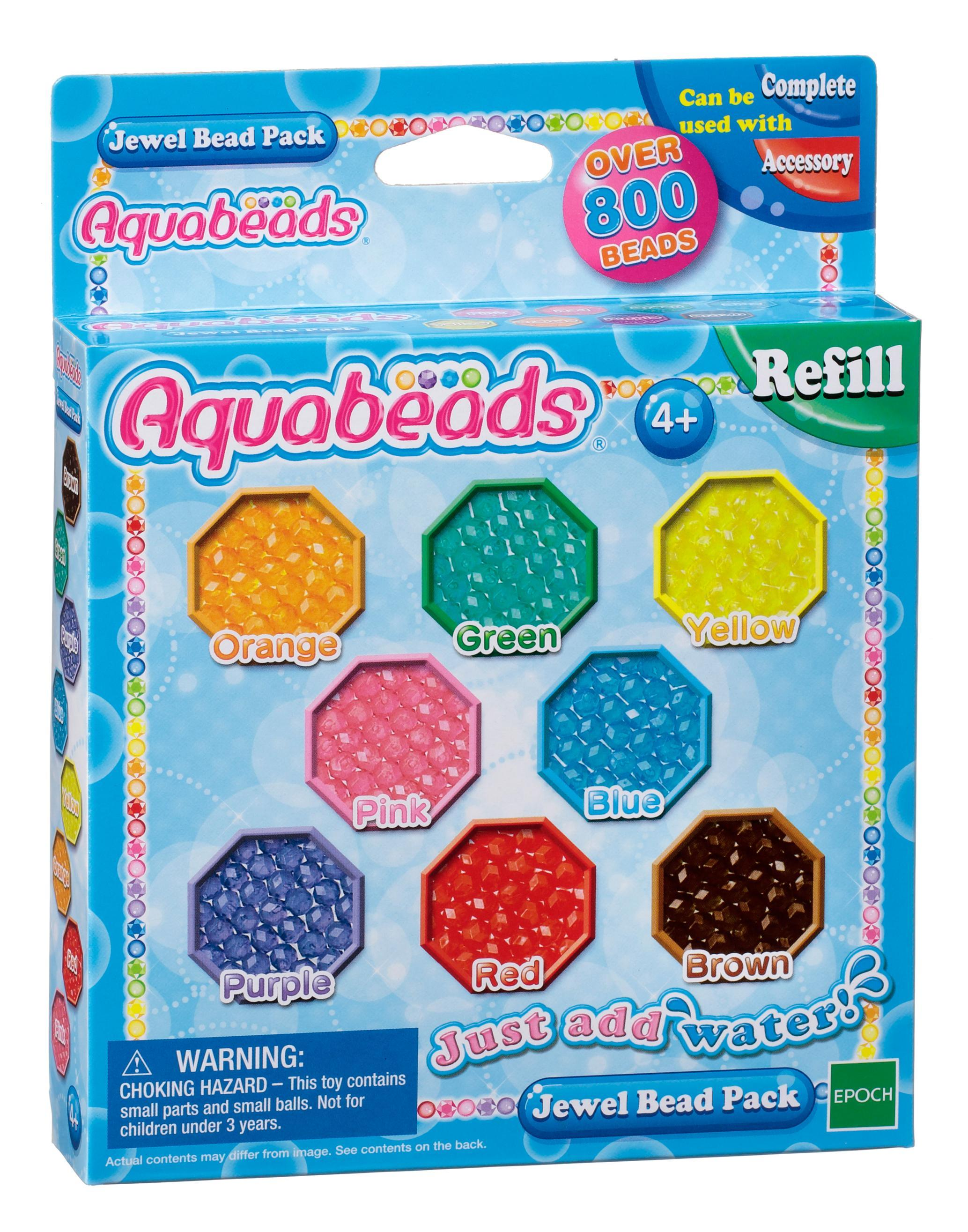 Aquabeads refill jewel bead pack (79178)