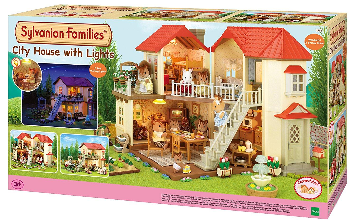 Sylvanian Families City house with lights (2752)