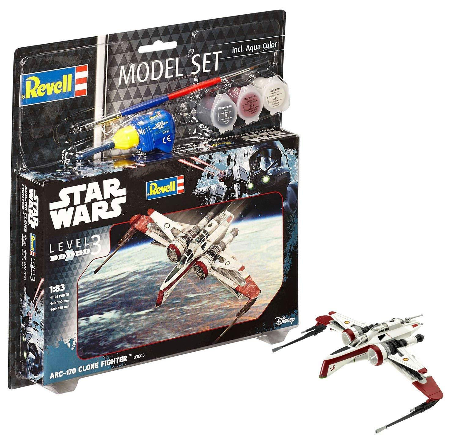 Revell Κατασκευή Star Wars Arc-17 clone fighter (63608)