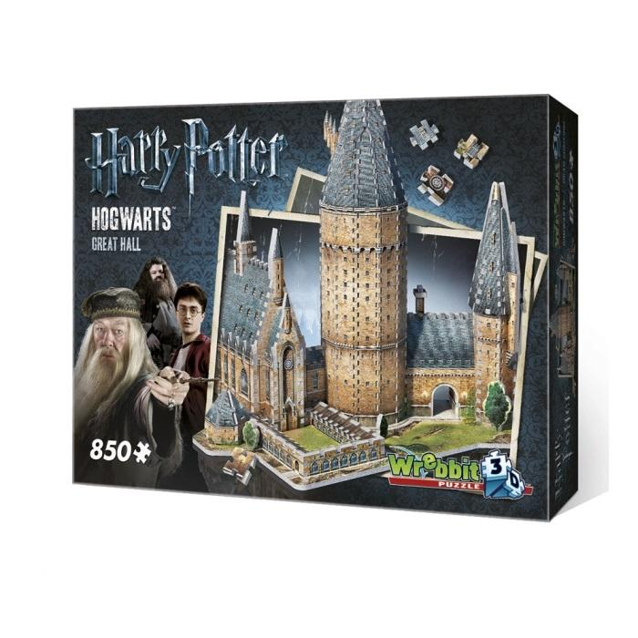 Puzzle 3d Harry Potter Hogwarts Great Hall (34519)