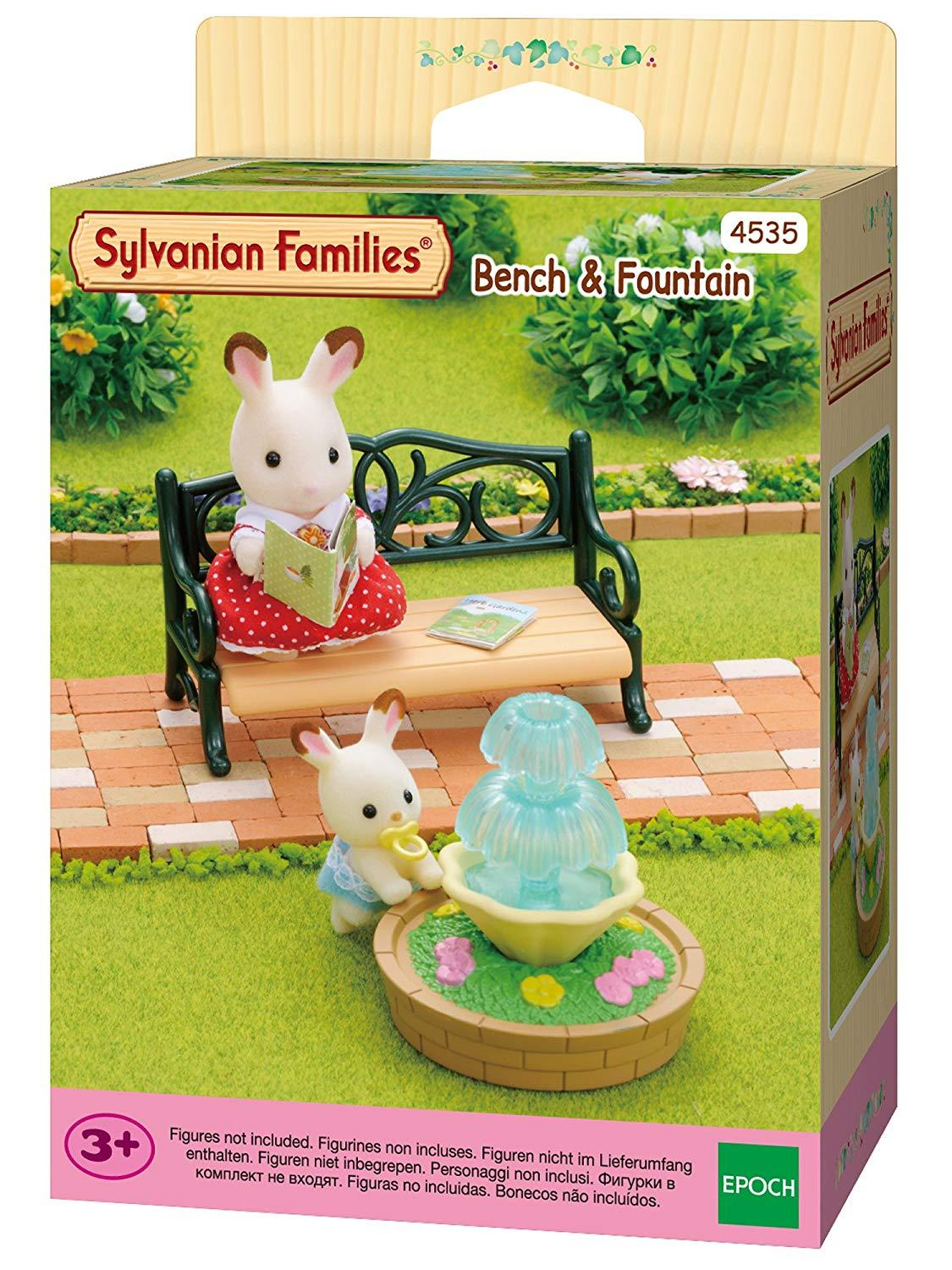 Sylvanian Families Bench and fountain (4535)