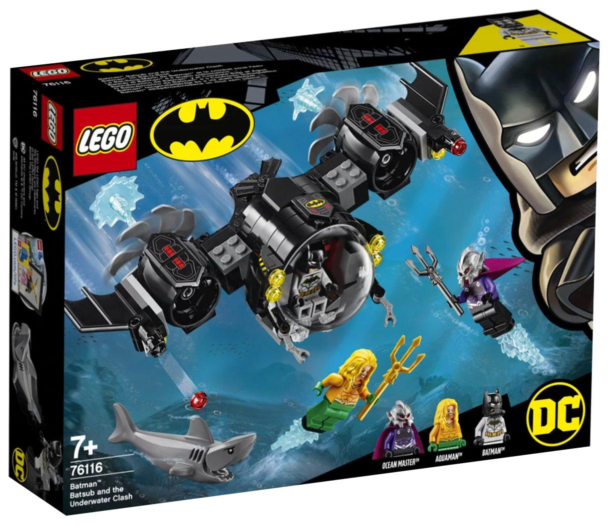 Lego Super Heroes Batman Batsub and the Underwater Clash (76116)