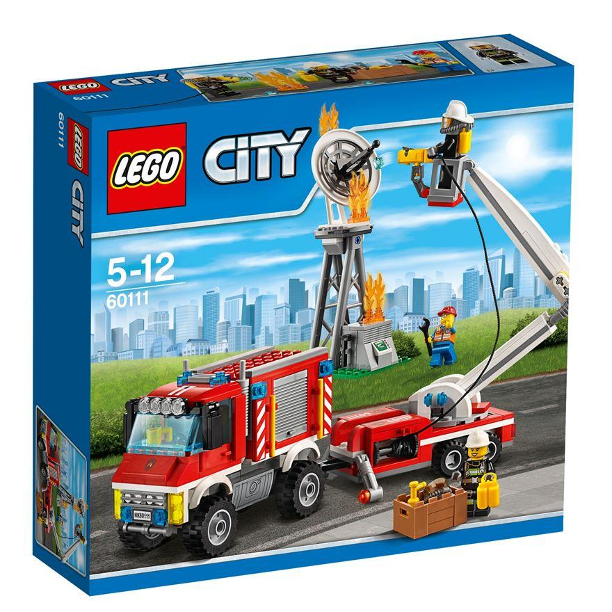 Lego City Fire Utility Truck