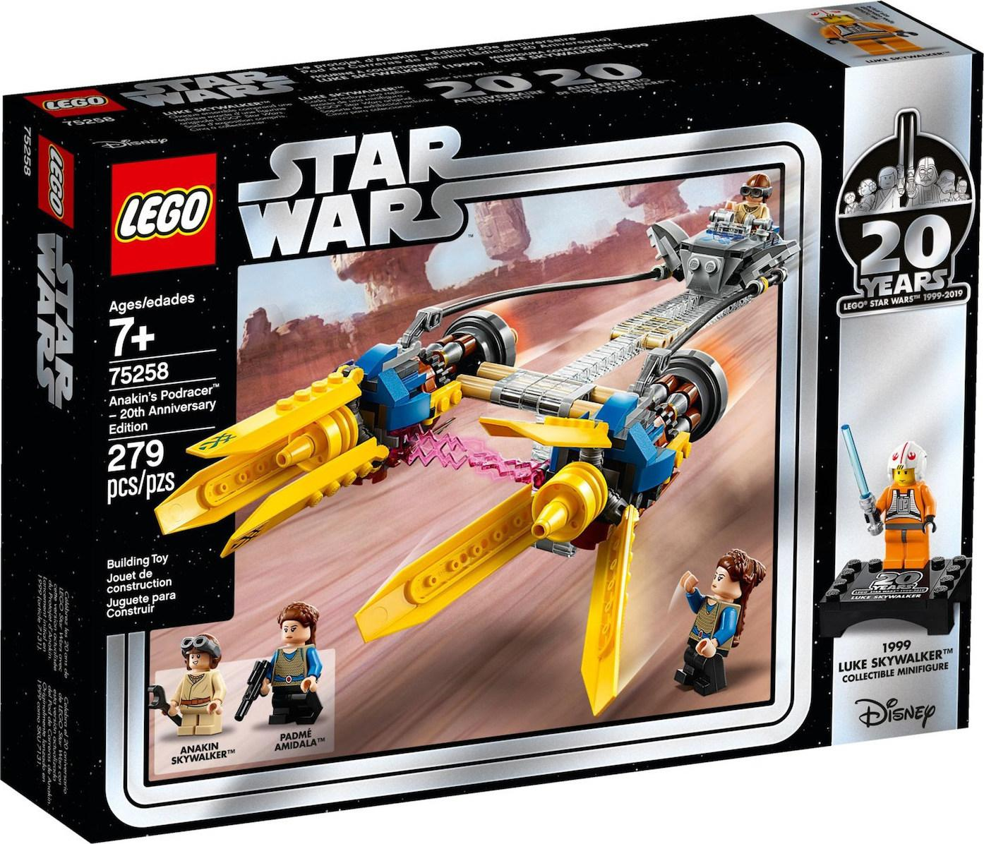 Lego Star Wars Anakins Podracer -20th Anniversary edition (75258)