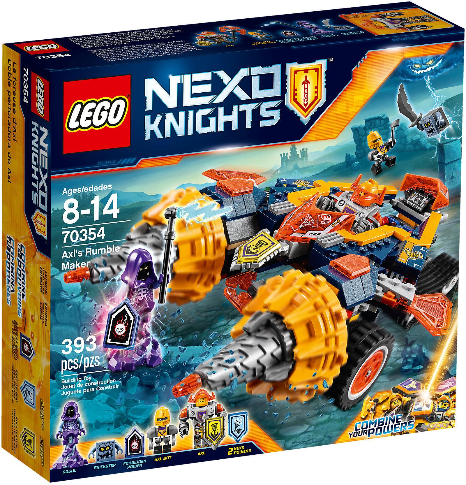 Lego Nexo Knights Axis Rumble Maker