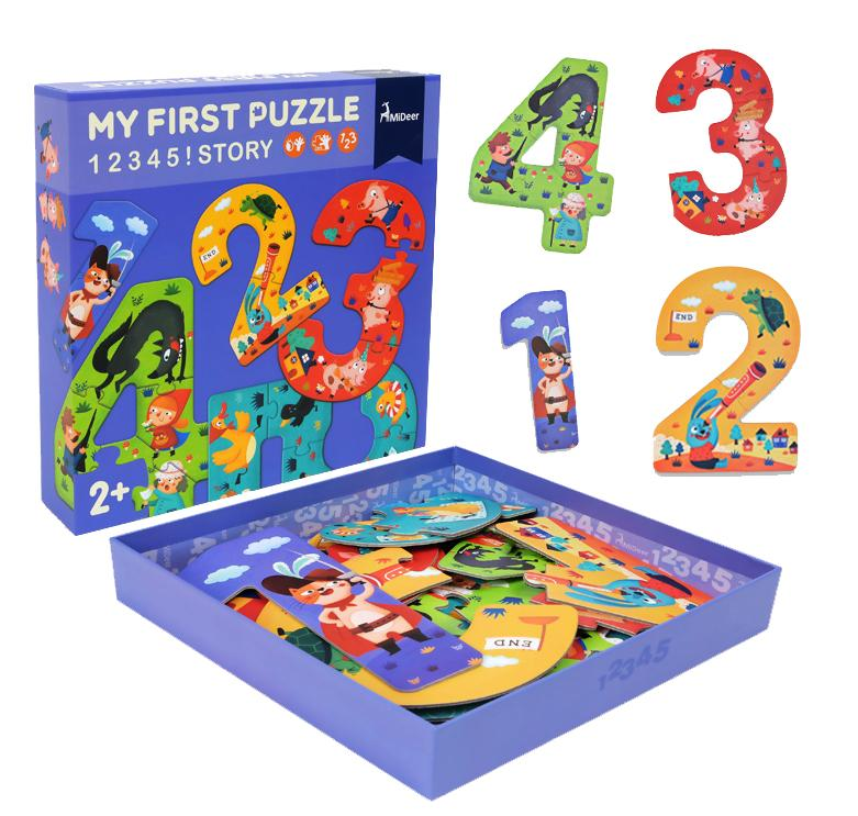 Puzzle 12345! Story (MD3030)