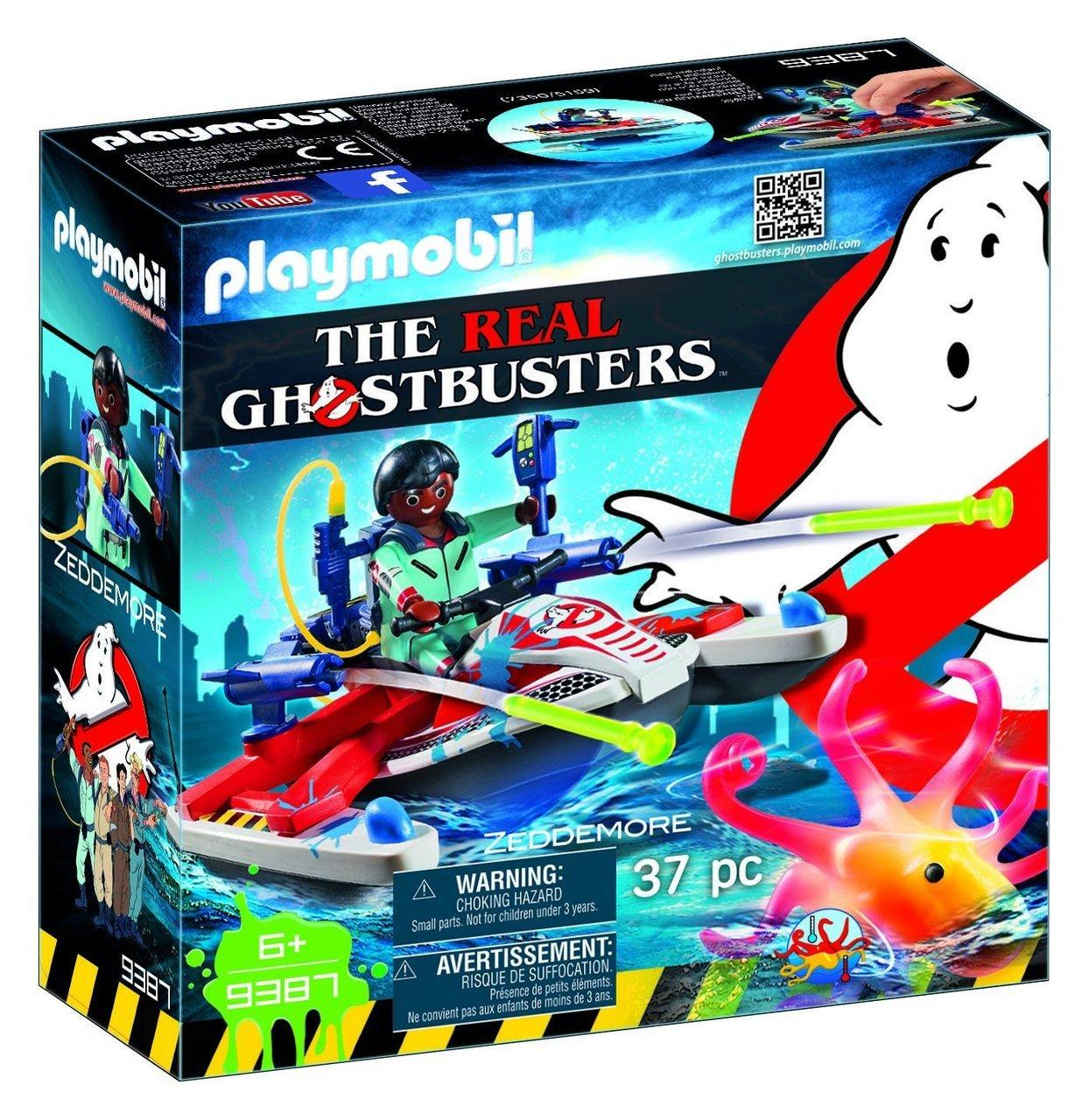 Ghostbusters Δρ.Ζέντμορ Με Aqua Scooter (9387)
