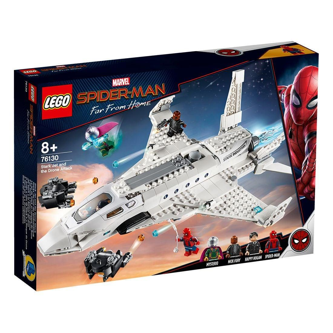 Lego Super Heroes Stark Jet And The Drone Attack (76130)