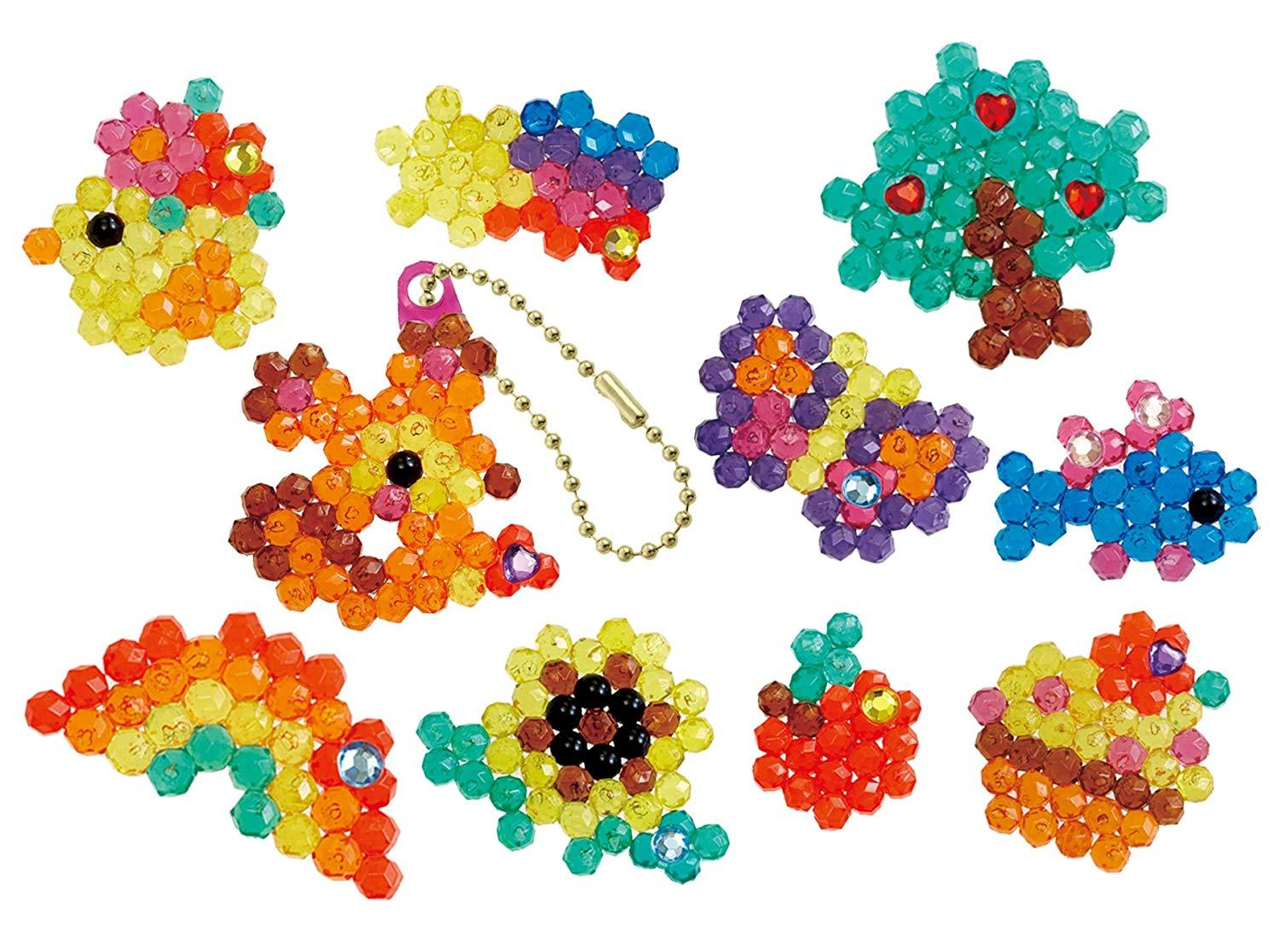 Aquabeads refill crystal charm set bead pack (79288)