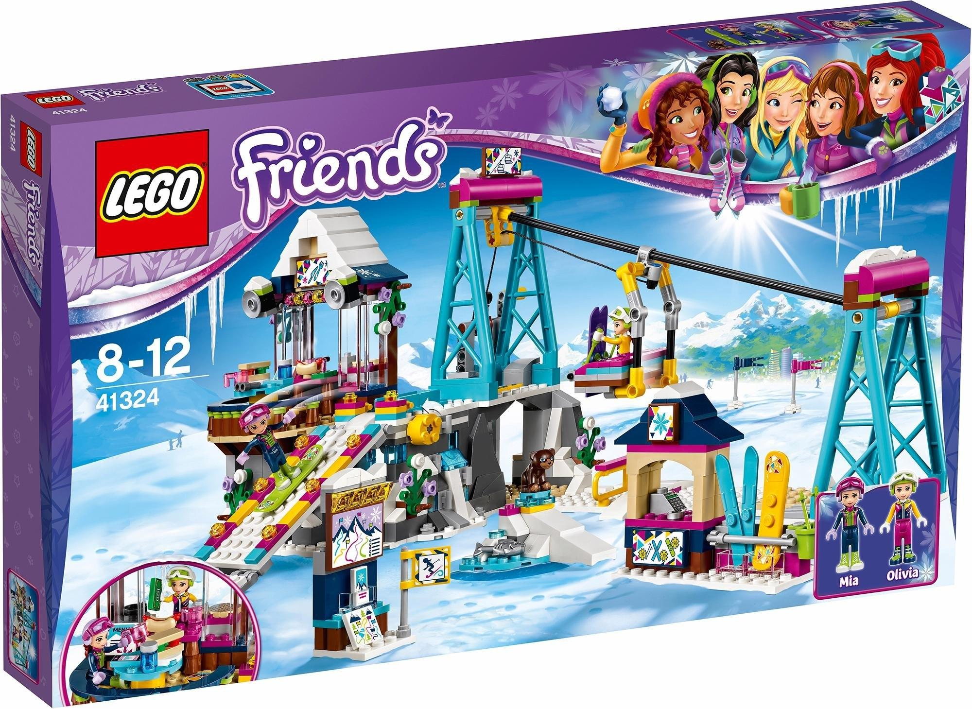Lego Friends Snow Resort Ski Lift (41324)