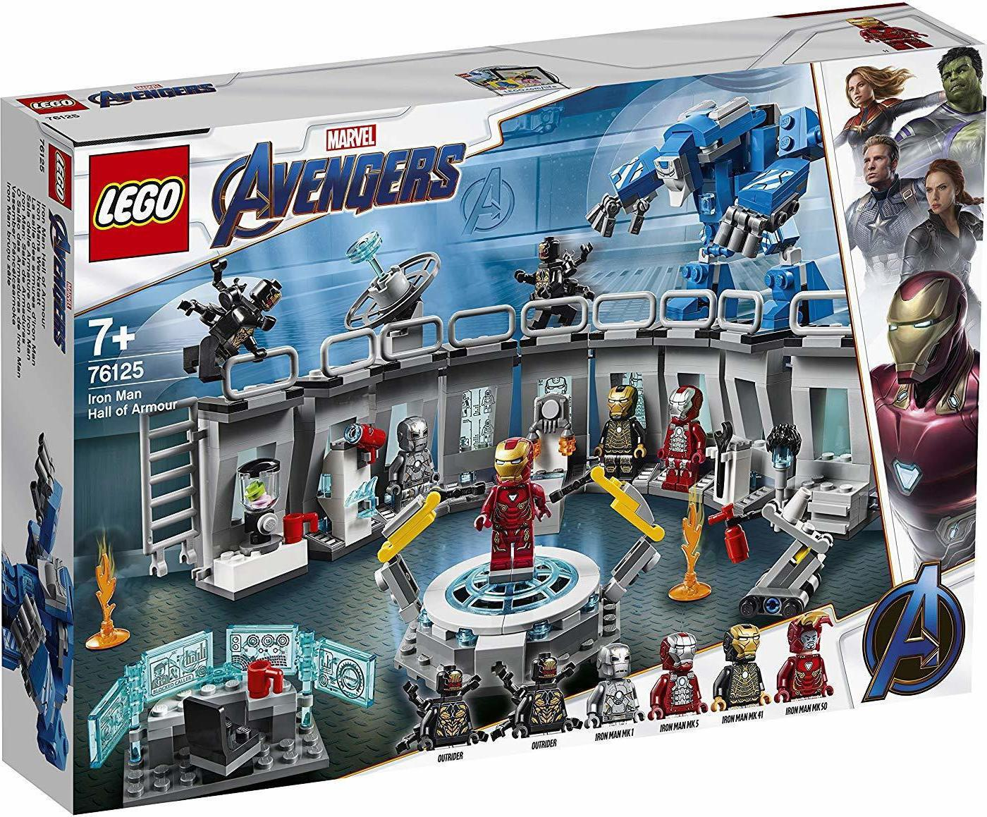 Lego Super Heroes Iron Man Location (76125)