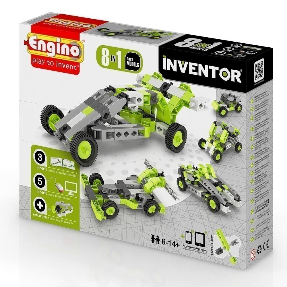 Engino Inventor 8 in 1 Cars (0831)