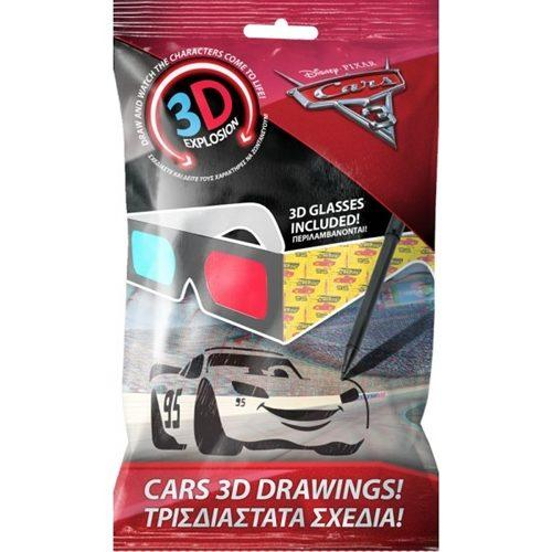 Γυαλιά Cars 3D Drawings (0561930)