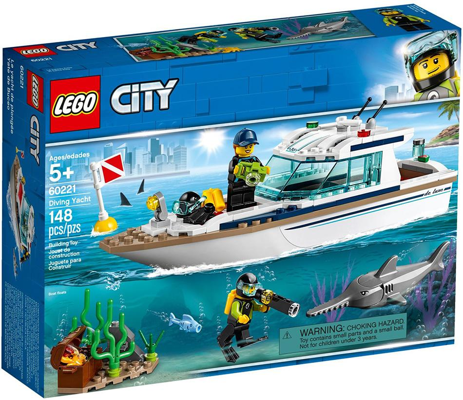 Lego City Diving Yacht (60221)