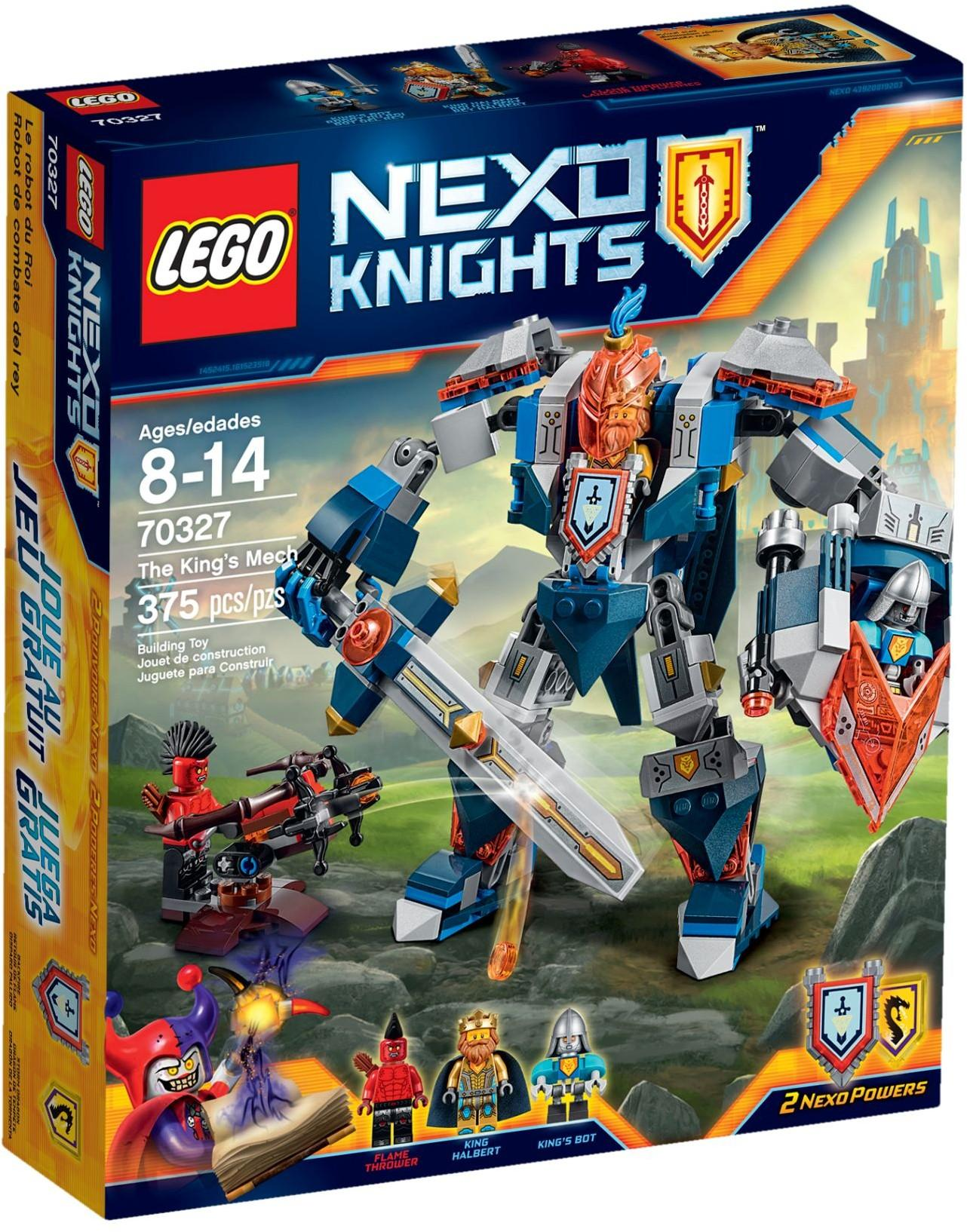 Lego Nexo Knights The King's Mech