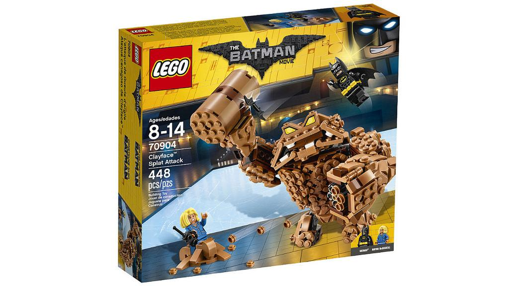 Lego Batman Movie Clayface Splat Attack