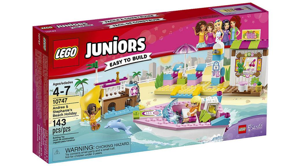 Lego Juniors Andrea & Stephanie's Beach Holiday