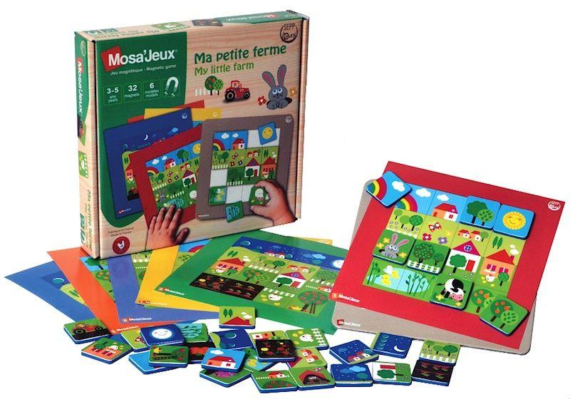 Puzzle μαγνητικό Mosa'Jeux My Little Farm (MJMPF)