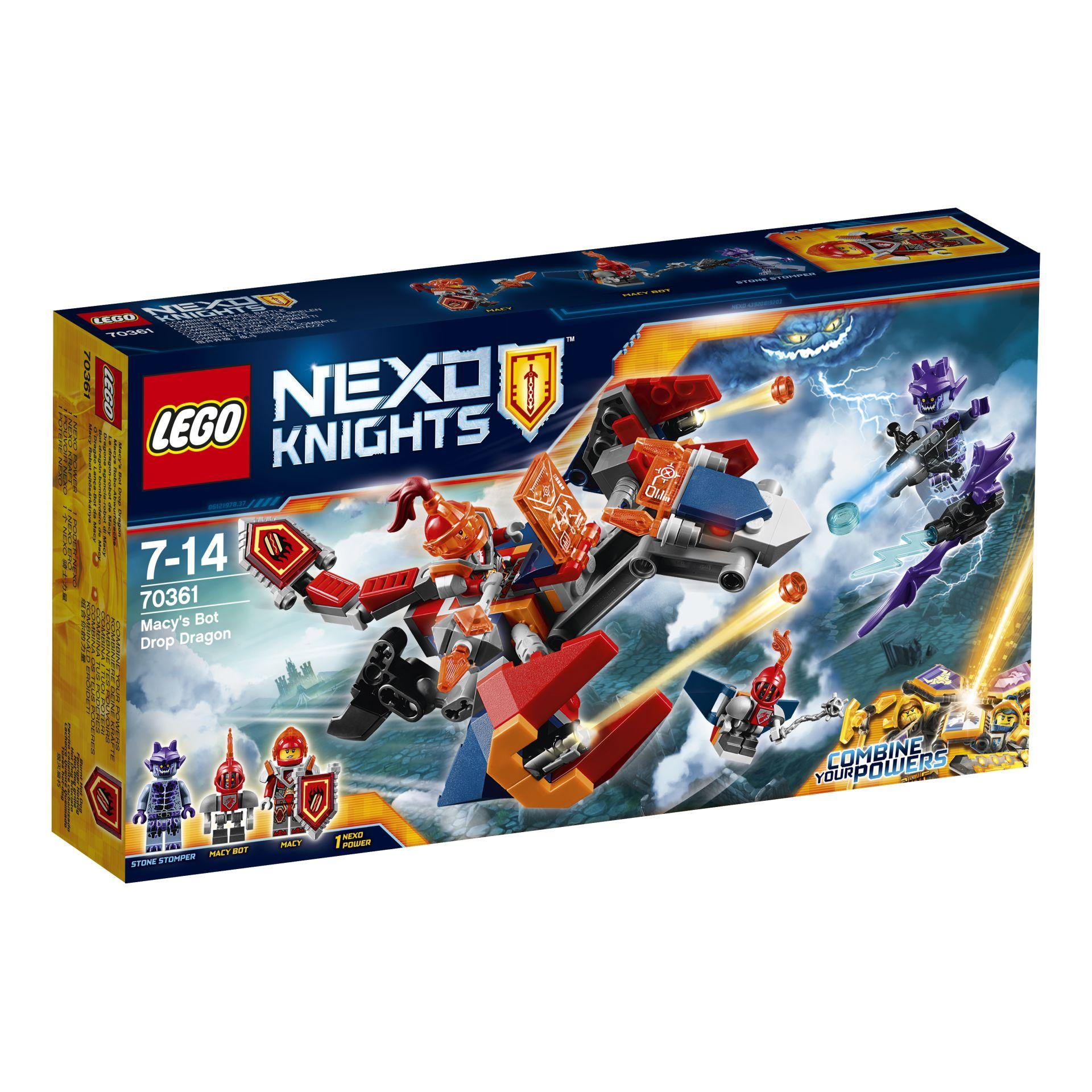 Lego Nexo Knights Macys Bot Drop Dragon
