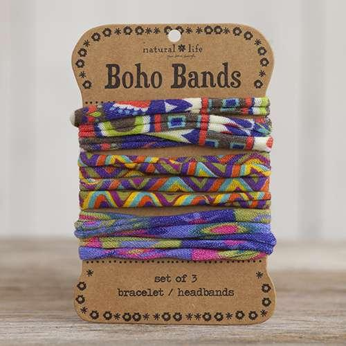 Boho Band Red Zig Zag and Multicolor