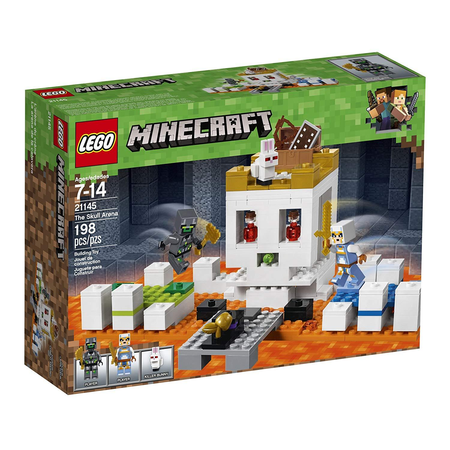 Lego Minecraft The Skull Arena (21145)