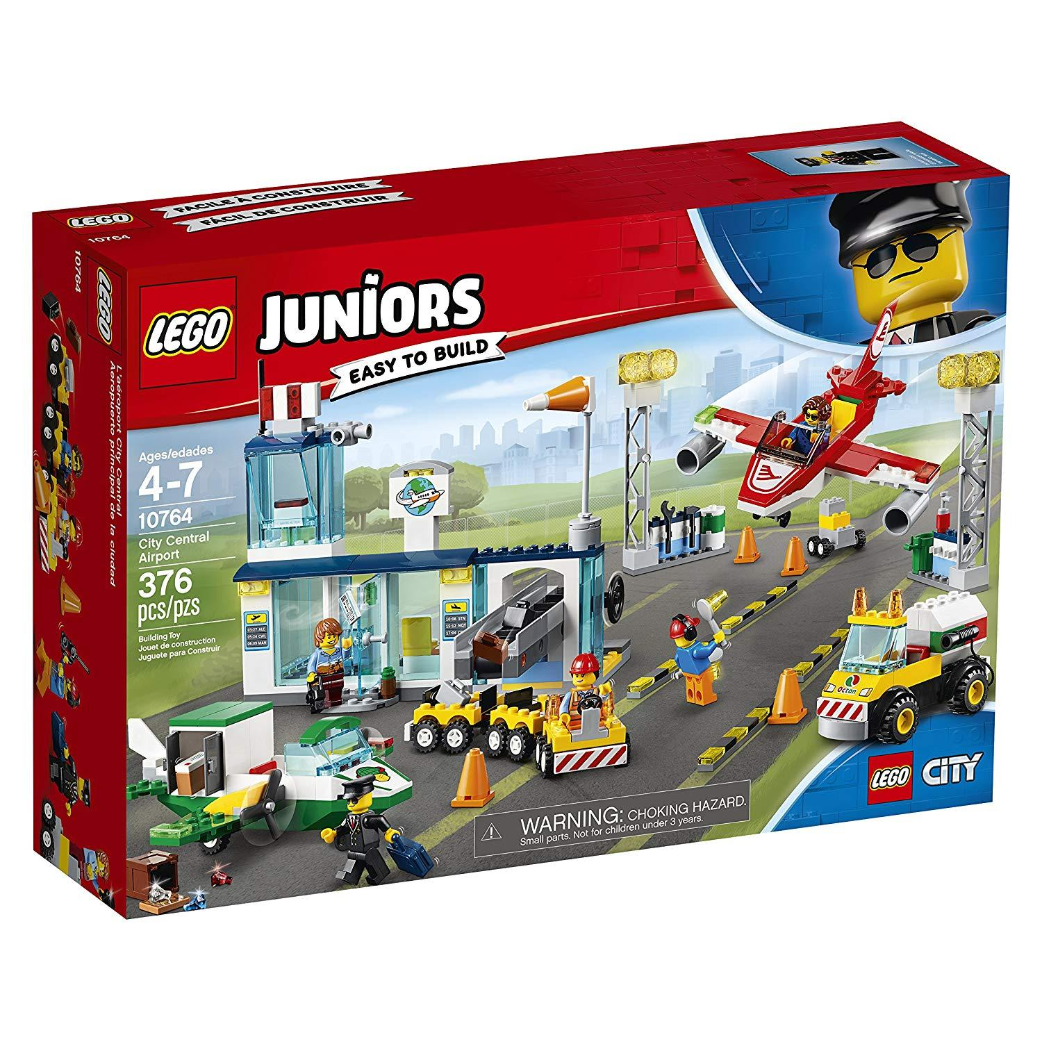 Lego Juniors City Central Airport (10764)