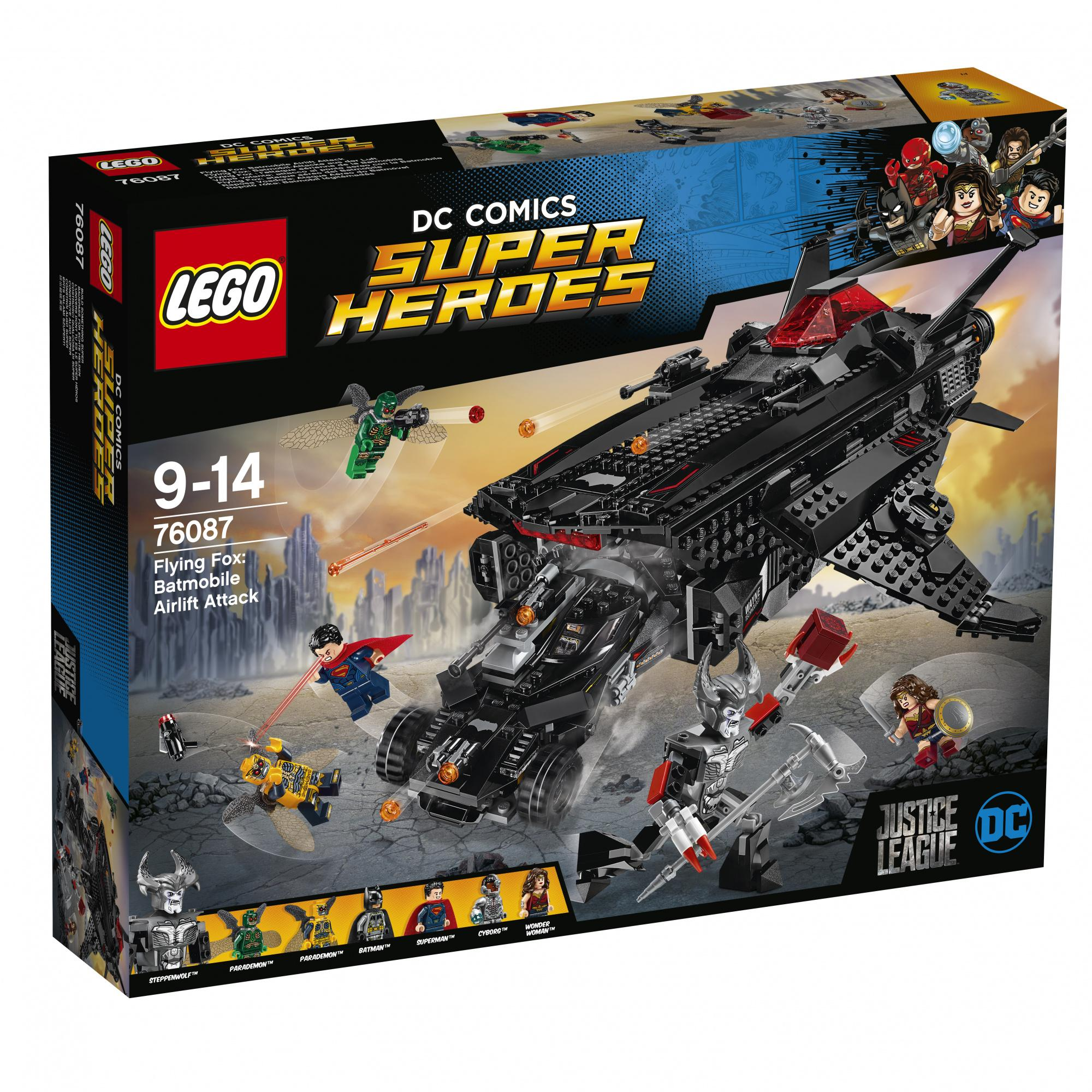 Lego Super Heroes Flying Fox Batmobile Airlift Attack Au7 (76087)