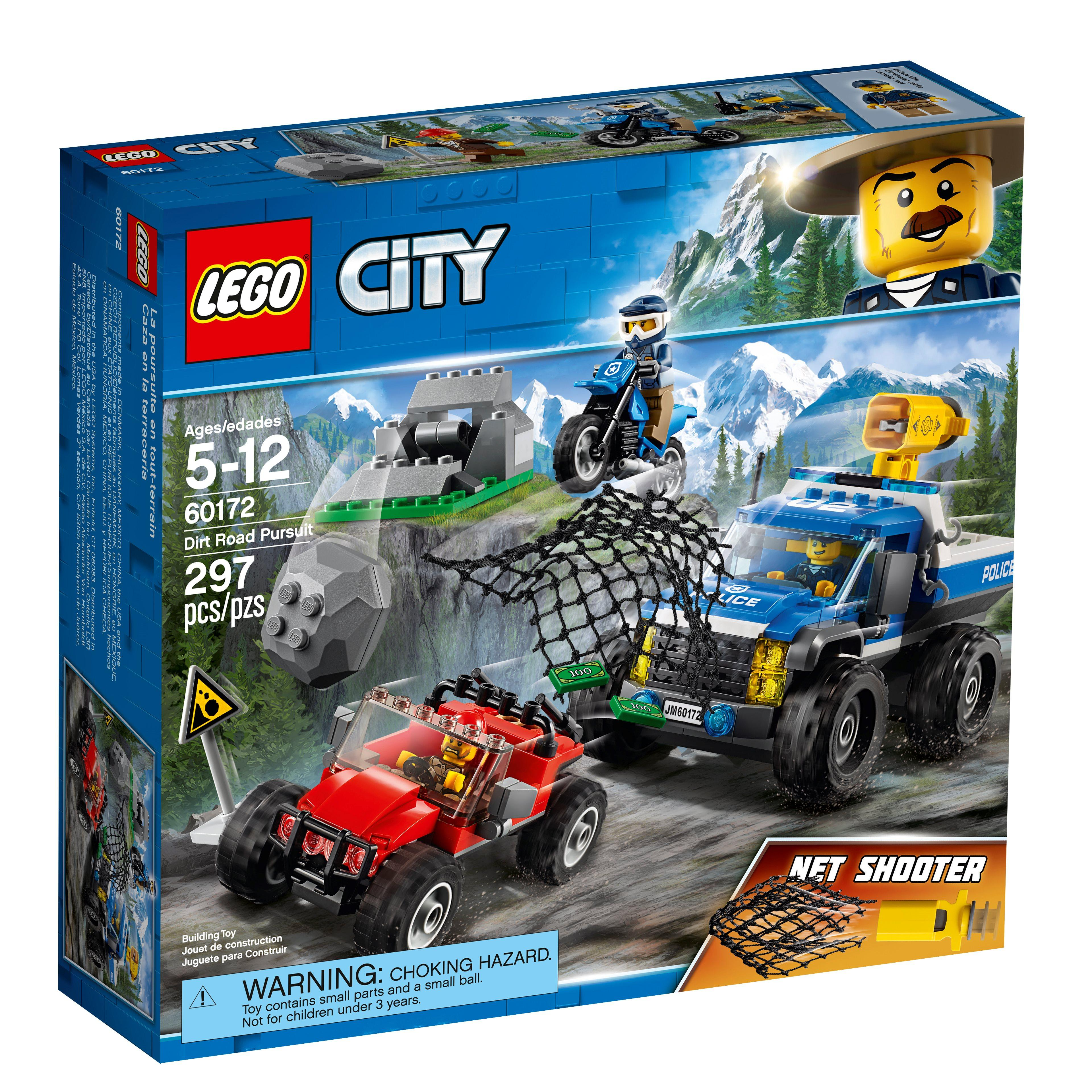 Lego City Dirt Road Pursuit (60172)
