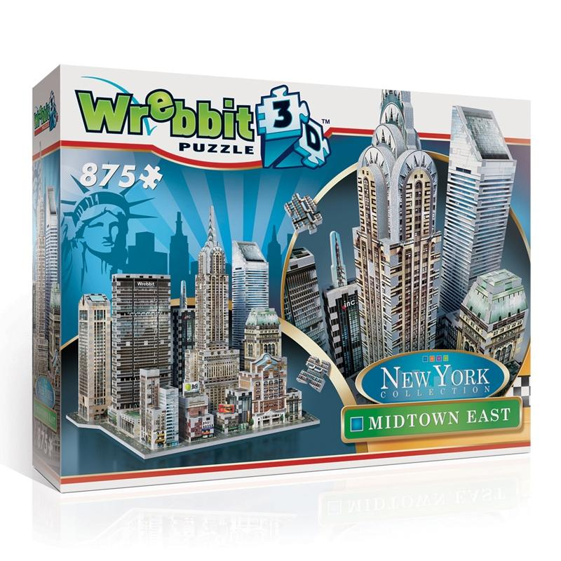 3D puzzle New York Collection - Midtown East