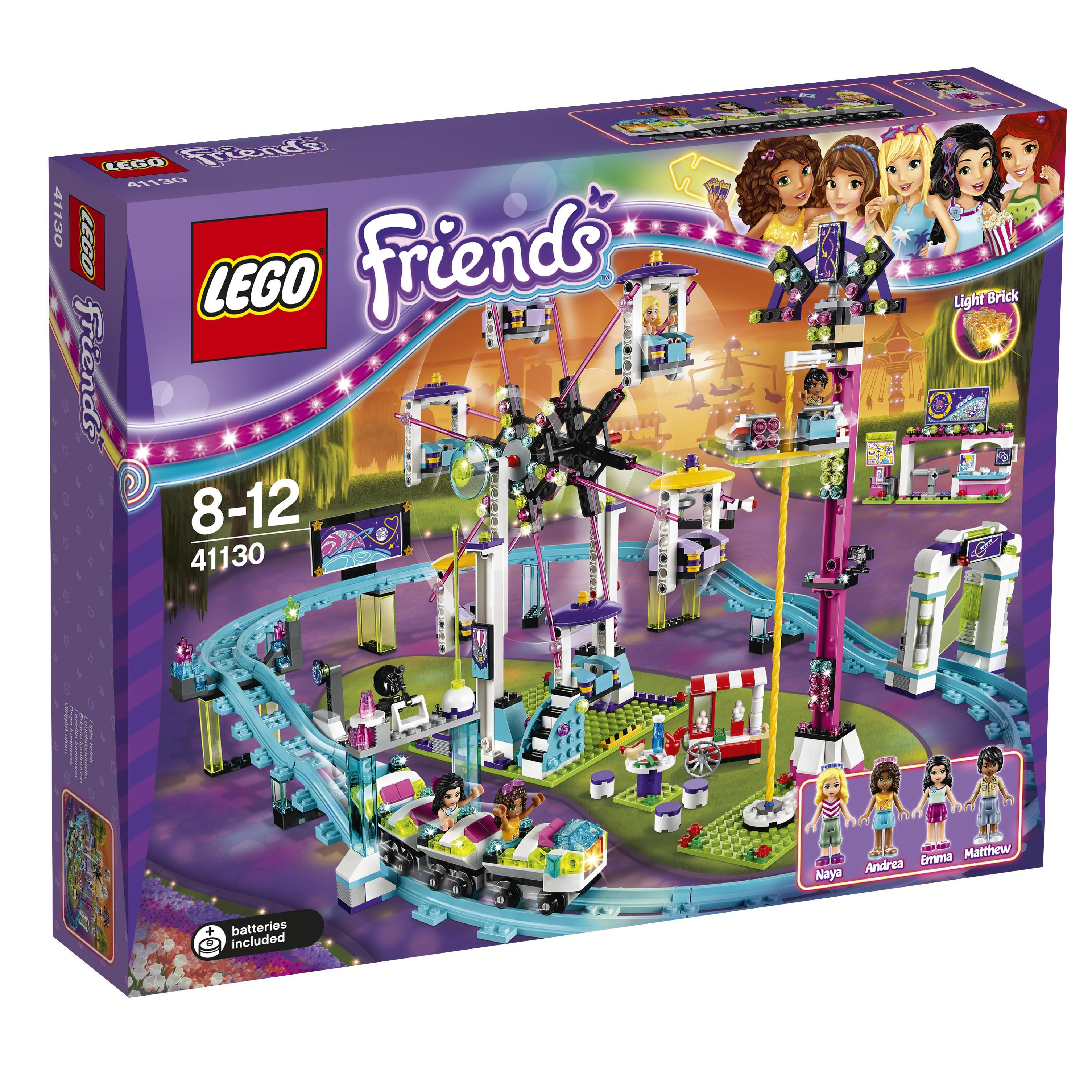 Lego Friends Amusement Park Roller Coaster (41130)