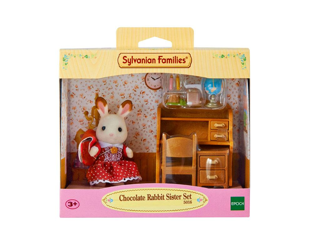 Sylvanian Families Chocolate Rabbit Sister Set (5016)