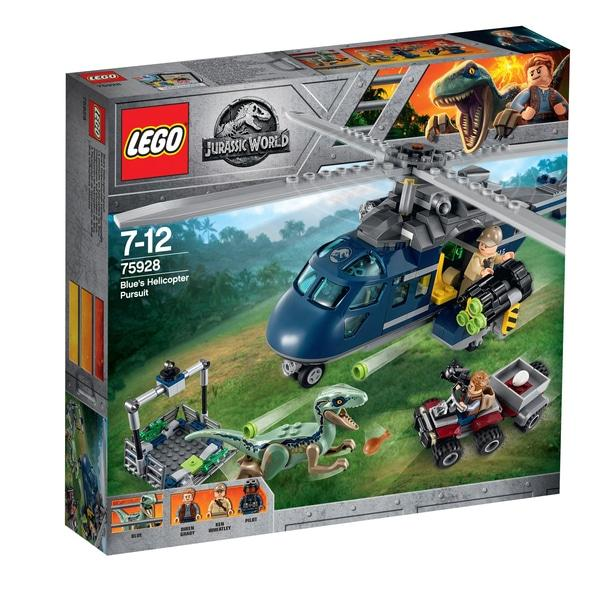 Lego Jurassic World Blue's Helicopter Pursuit (75928)