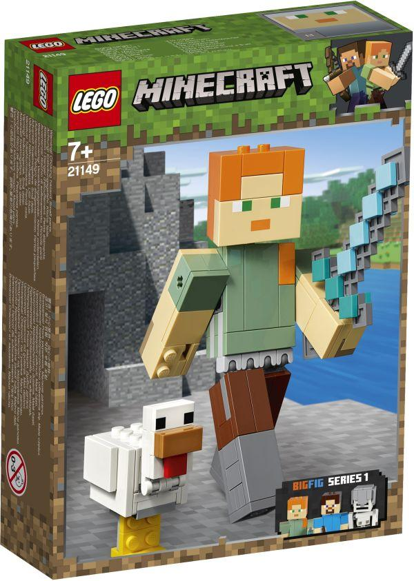 Lego Minecraft Alex BigFig with Chicken (21149)