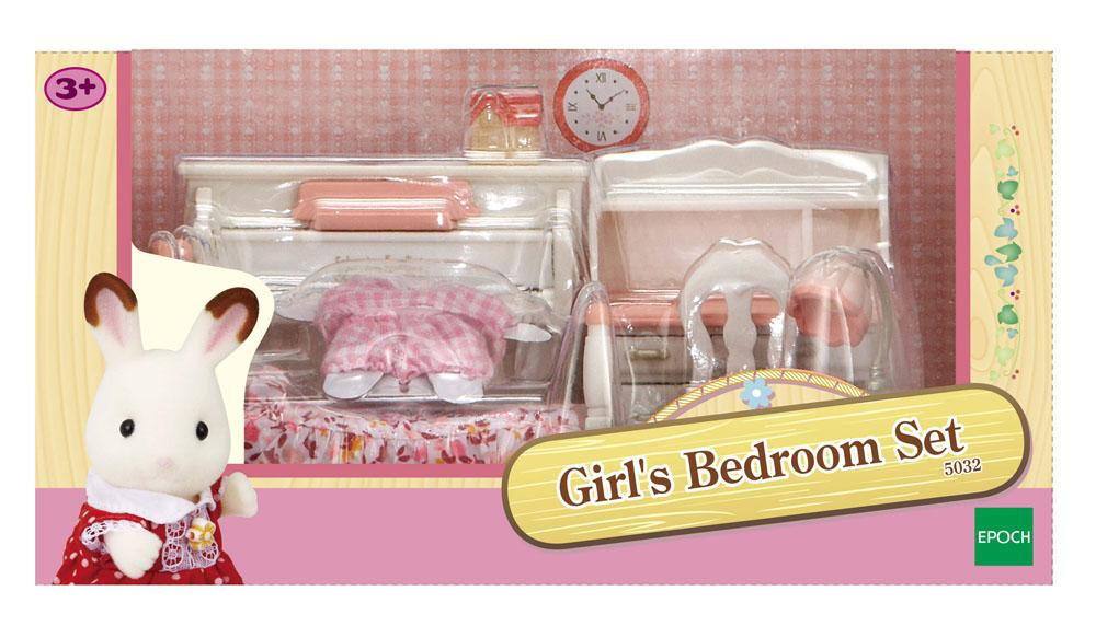 Sylvanian Families Girl's room set