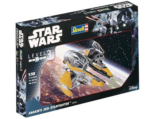 Revell Κατασκευή Star Wars Anakin's Jedi Starfighter (63606)