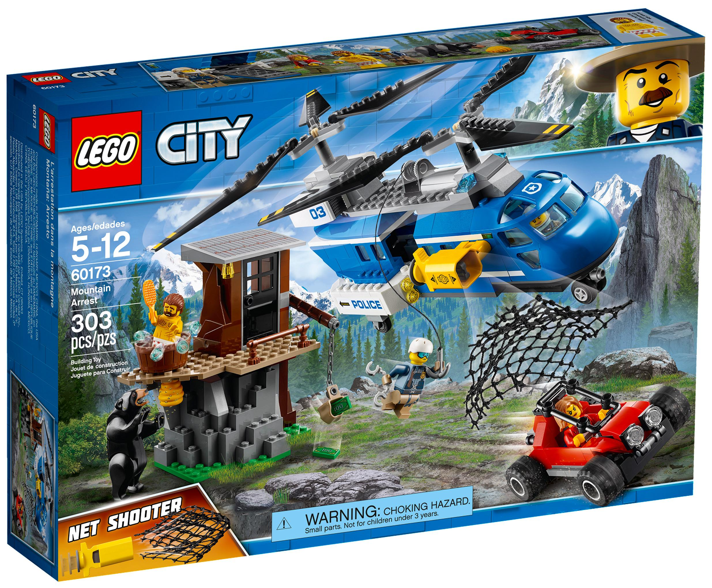 Lego City Mountain Arrest (60173)