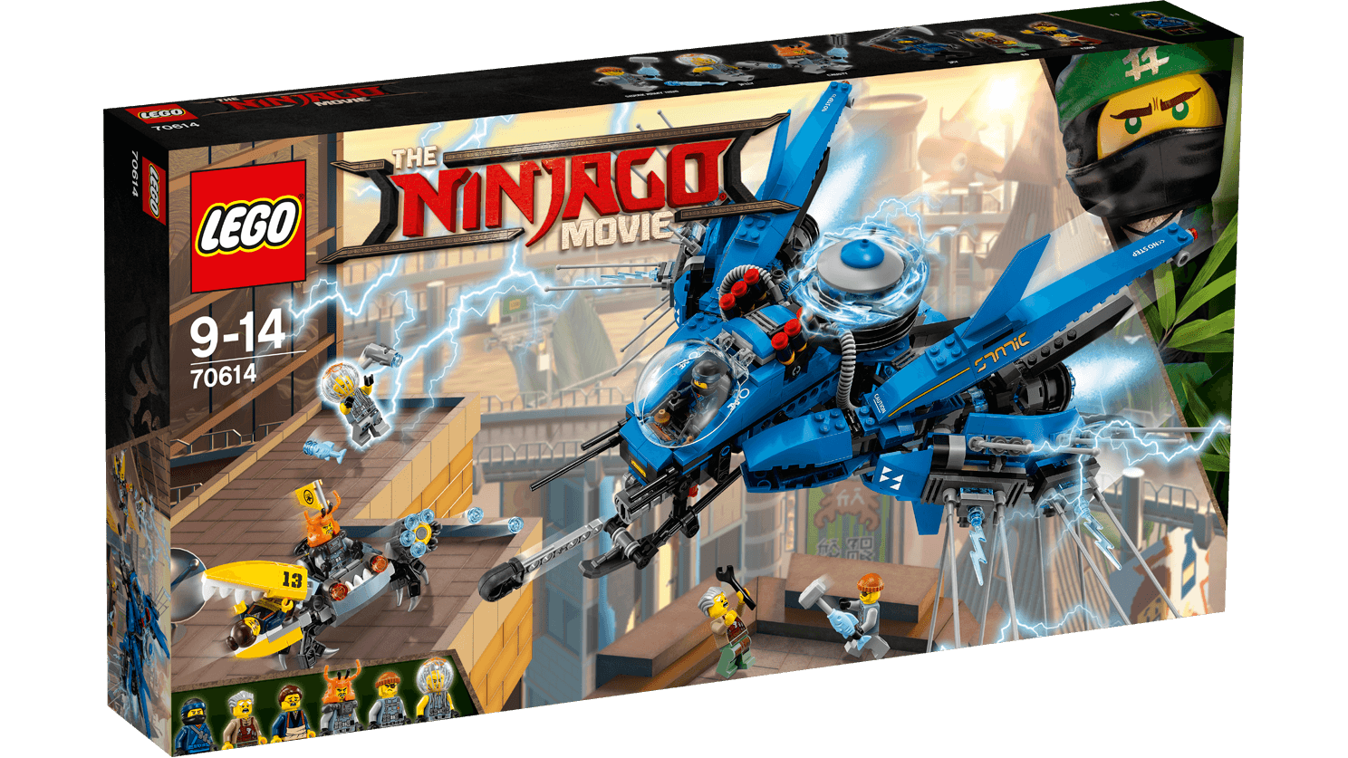 LEGO Ninjago Movie Lightning Jet (70614)