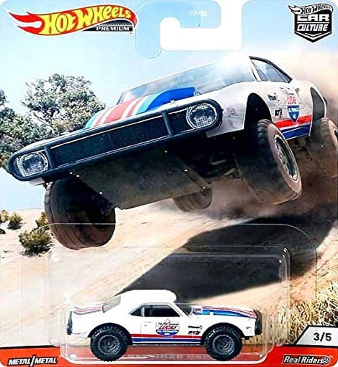 Hot Wheels Car Culture Wild Terrain Real Riders Off Road Camaro (1967) (GJP89/FPY86)