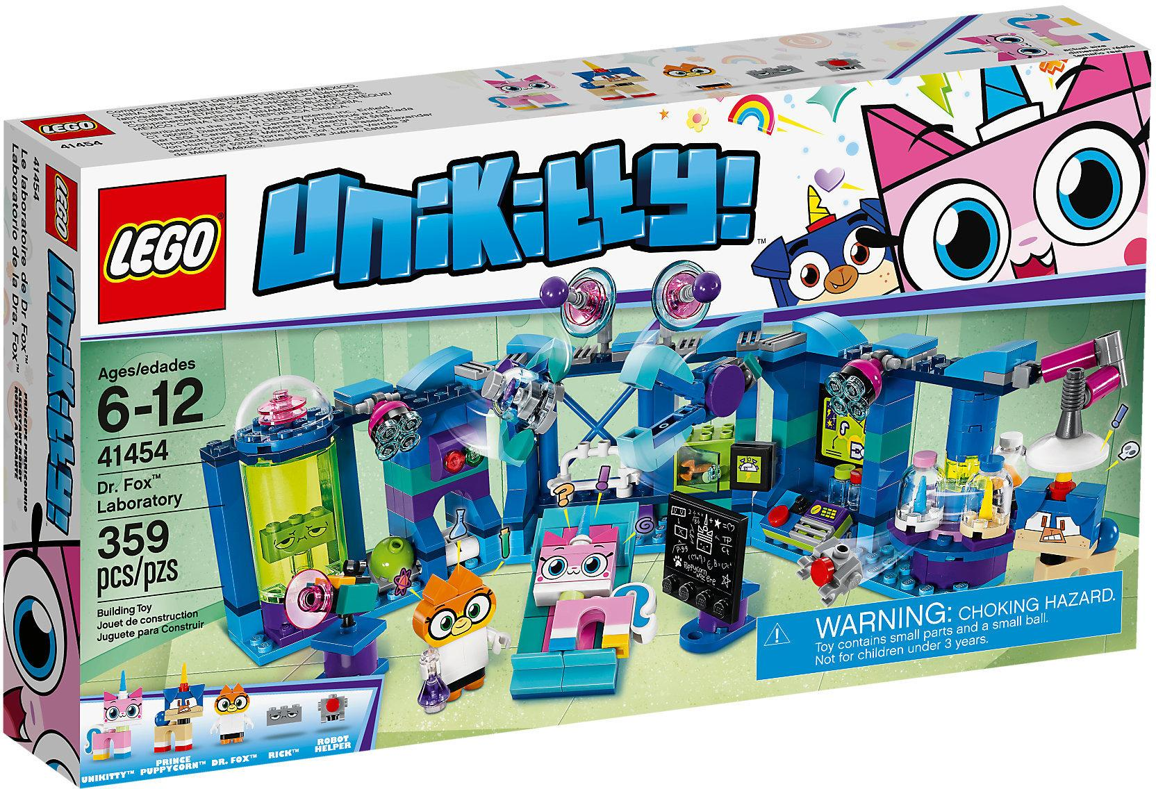 Lego Unikitty Dr. Fox Laboratory (41454)