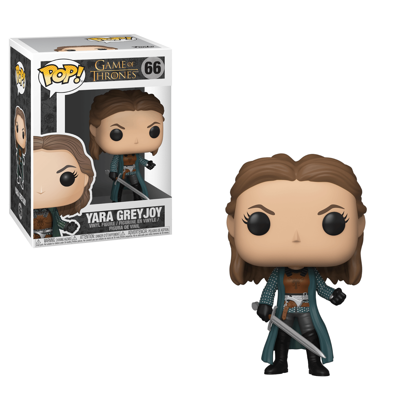 POP! Game of Thrones - Yara Greyjoy (66) Vinyl Figure